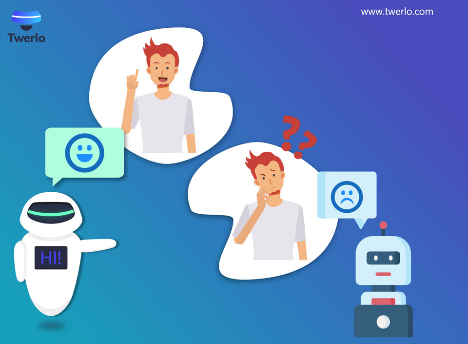 Chatbots are Keyword-based and Button-focused Interface